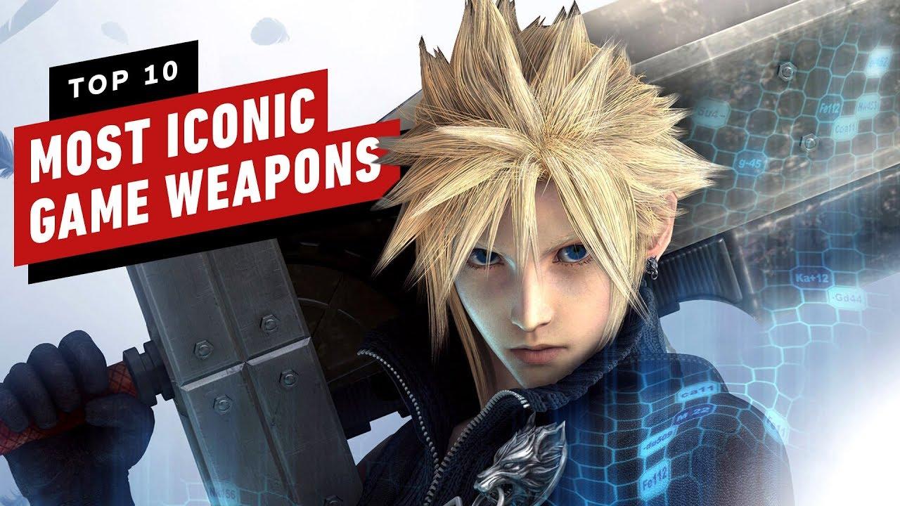 As 10 armas mais icônicas de videogame de todos os tempos + vídeo
