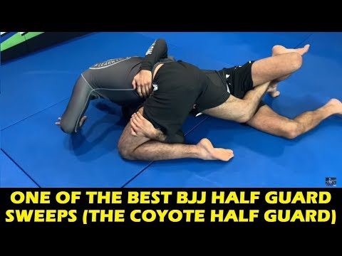 One Of The Best BJJ Half Guard Sweeps (The Coyote Half Guard) by Lucas Leite