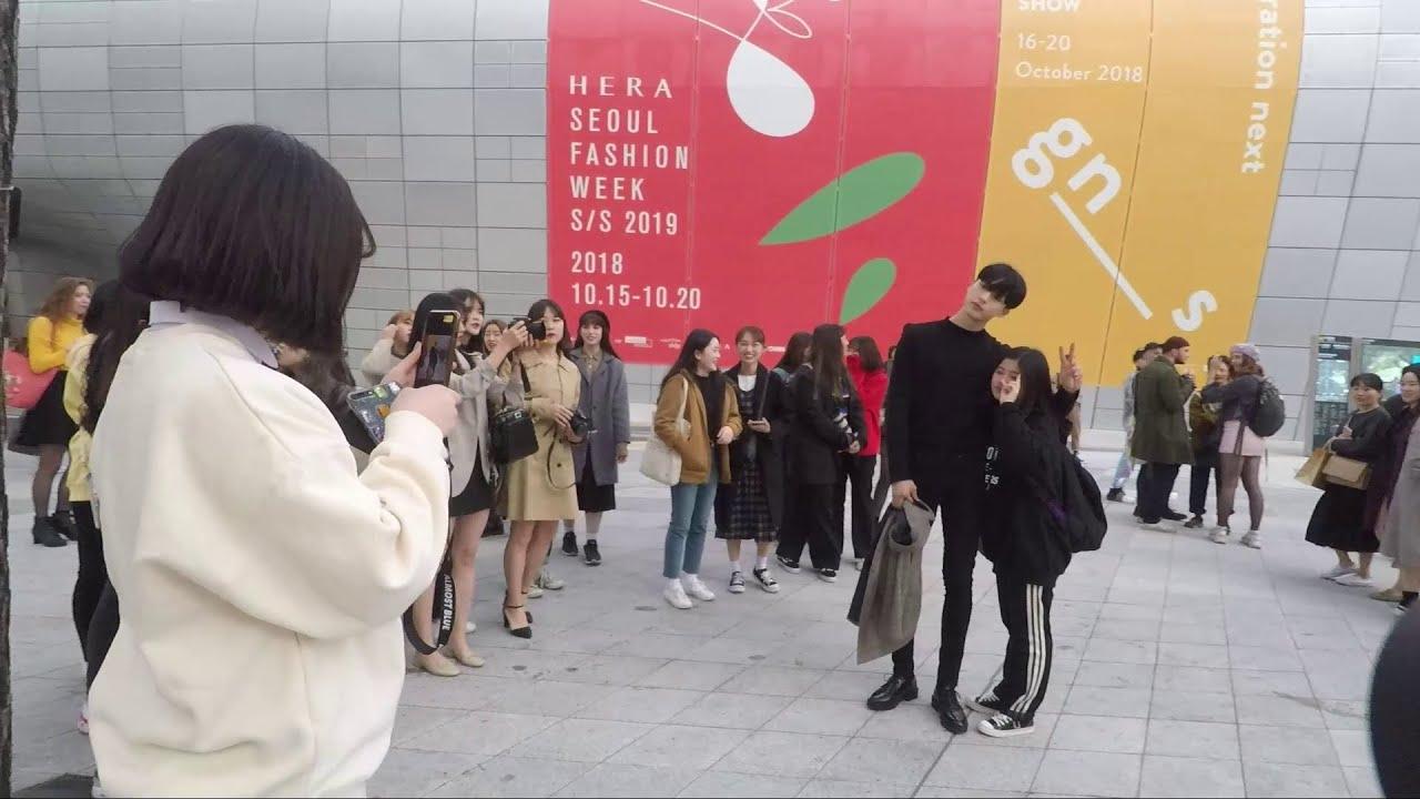 Walking Tour Of Dongdaemun Design Plaza Hera Seoul Fashion Week 2018 Youtube
