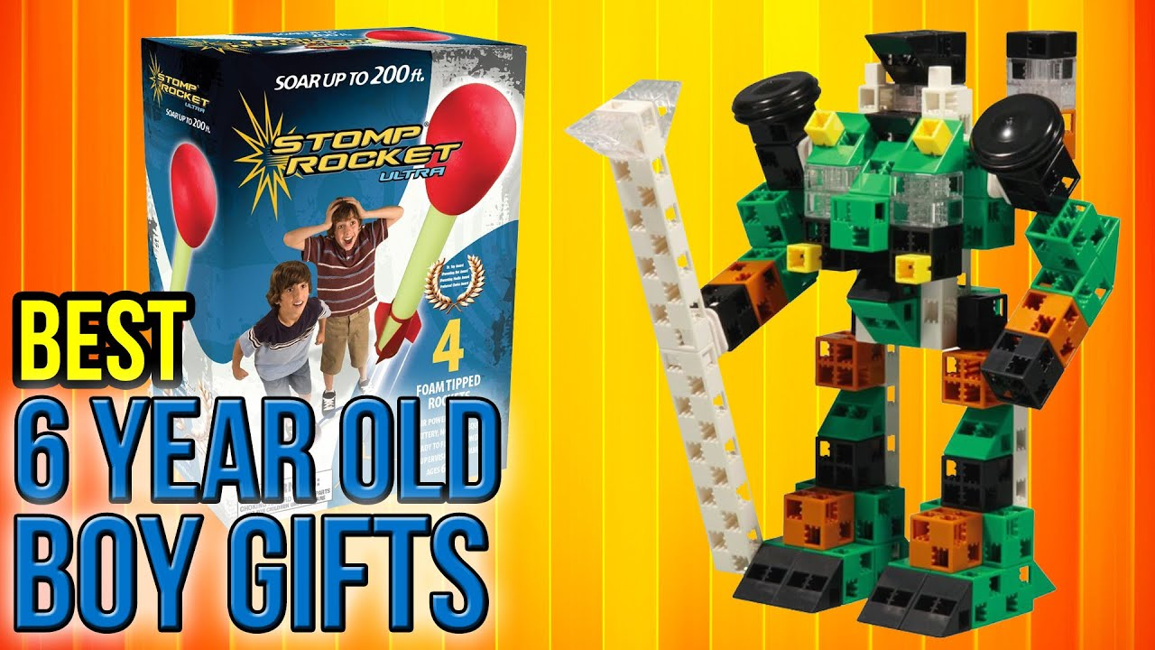 10 Best 6 Year Old Boy Gifts 2017