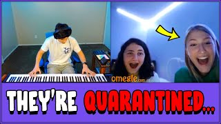 Pianist Entertains Quarantined Strangers on Omegle...