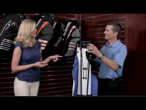 adidas Golf Clutch Stand Bag Overview