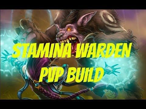ESO: Stamina Warden PvP Build // Dragon Bones || Clockwork