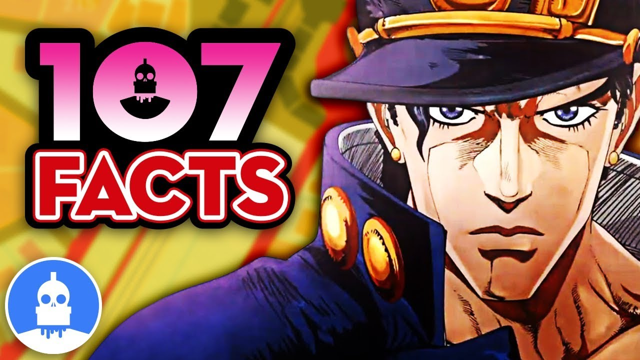 107 JoJos Bizarre Adventure Anime Facts YOU Should Know