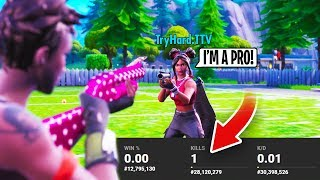 EXPOSING Pro Players STATS In Arena Mode... (TERRIBLE)