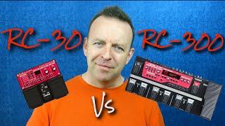 Boss RC-30 vs Boss RC300 Loop Pedal - 2019