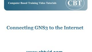 How to Connect GNS3 to the Internet