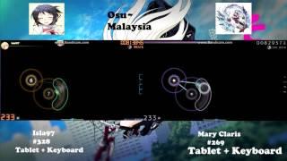 Osu! Faylan - Tokyo Zero Heart [ Insane ] Isla vs Mary Claris