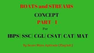 Boats and Streams Concept and Tricks