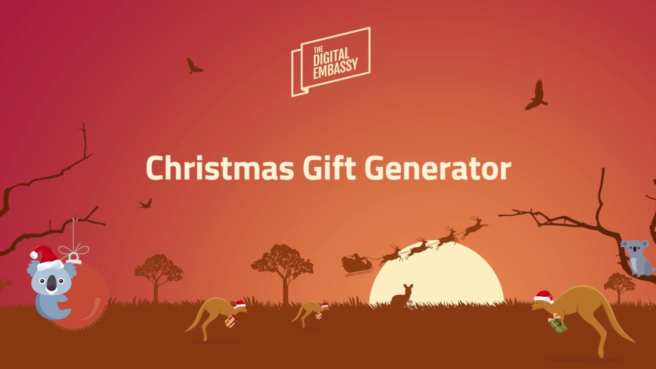 our christmas project 2017 a quirky gift generator solution youtube