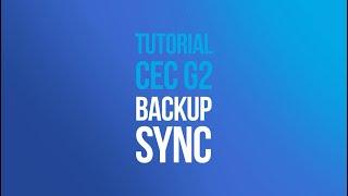 Tutorial CEC G2 - Conexão Sync