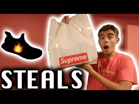 HYPEBEAST SHOPPING AT SUPREME and ROUND TWO for CHEAP!!!