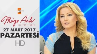 Müge Anlı ile Tatlı Sert 27 Mart 2017 Pazartesi - 1809. Bölüm - atv