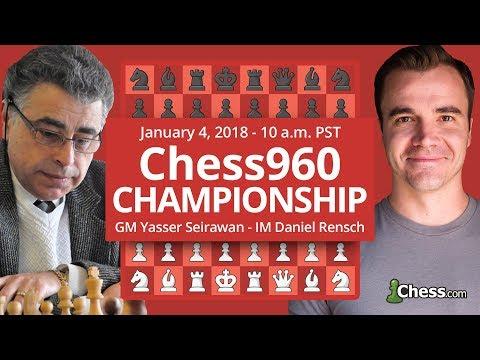 Chess.com Chess960 Championship: Yasser Seirawan Commentates