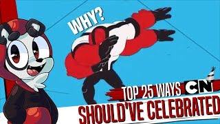 Video 25 Ways Cartoon Network Should Have Celebrated Their 25th Anniversary download MP3, 3GP, MP4, WEBM, AVI, FLV Agustus 2018