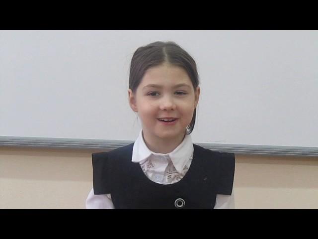 Изображение предпросмотра прочтения – КристинаХорошкова читает произведение «Лисица и виноград» И.А.Крылова