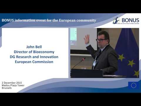 WELCOME  by John Bell, Director of Bioeconomy, DG Research and Innovation, European Commission