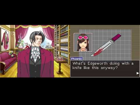 Let's Play Phoenix Wright Ace Attorney ep 29 'The Prosecutor's Office'