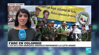 """Reprise de la lutte armée des FARC en Colombie : """"Le processus de paix est fortement fragilisé"""""""