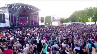 The Traps sur la scène du concert Génération M6 Live