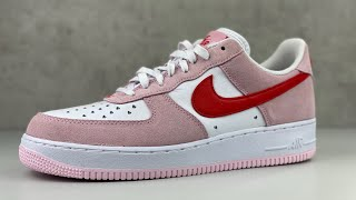 Nike Air Force 1 'VALENTINE'S DAY' | UNBOXING & ON FEET | fashion sneaker | 2021