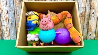 खिलौना बॉक्स आश्चर्य  Toy Box Surprise with Pappa and more