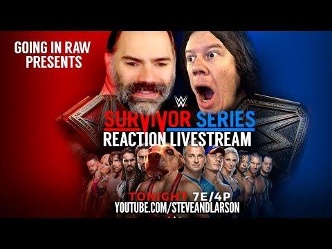 WWE SURVIVOR SERIES REACTIONS STREAM!