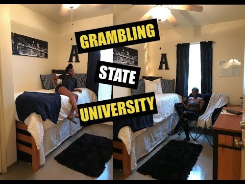 Nice GRAMBLING STATE UNIVERSITY MOVE IN DAY VLOG | #GRAMFAM21 Part 17