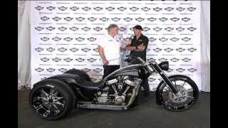 Interview with Kreater Custom Motorcycles on his Trike @ 2012 AMD World Championship