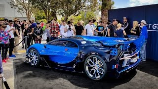 $8 Million Bugatti Vision GT Causes CHAOS (COPS GOT MAD)