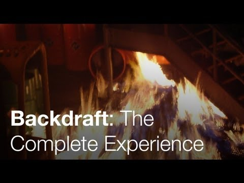Backdraft - The Complete Experience - Universal Studios Hollywood