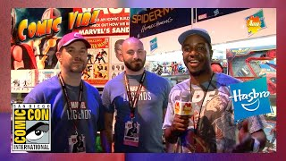 Hasbro Booth at San Diego Comic Con (Comic Vibe)