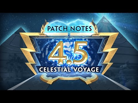 SMITE Patch Notes VOD - Celestial Voyage (Patch 4.5)