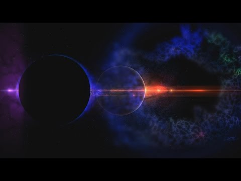 4K Peaceful Space Nebula Dusty Dark Colorful Design 2160p Moving Background