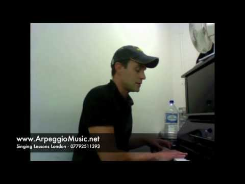 Singing Lessons Online - Male 5 tone humming - scales