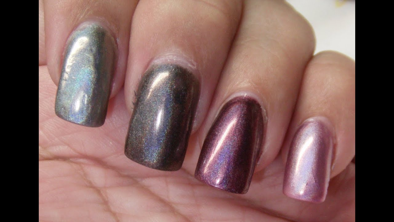 China Glaze Hologram Collection Review And Swatches