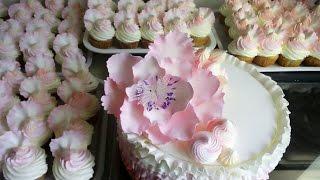 Свадебный торт и капкейки / Wedding cake