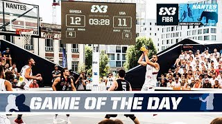 GAME OF THE DAY: Serbia vs. USA - Quarter-Finals - Full Game - FIBA 3x3 World Cup 2017 thumbnail