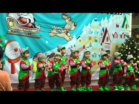 Think International Kindergarten Christmas Concert 2012 LNA First Show