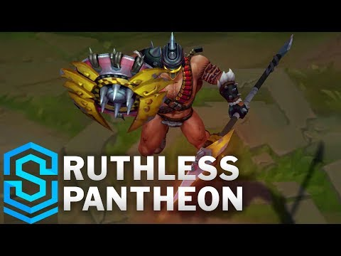 Ruthless Pantheon 2019 Skin Spotlight - League of Legends