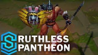 Ruthless Pantheon 2019 Skin Spotlight - League of Legends