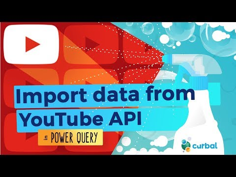 Import YouTube data into Power BI (Part 2)