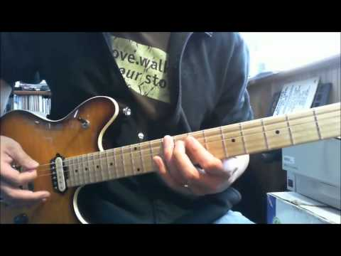 White Lion - Tell Me - Intro and Main Riff - Guitar Instructional