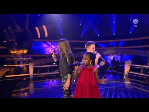 The Voice Kids Germany battle Mike vs Chelsea vs Olivia Empire State Of Mind