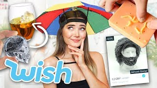 TESTING WEIRD THINGS I BOUGHT FROM WISH...