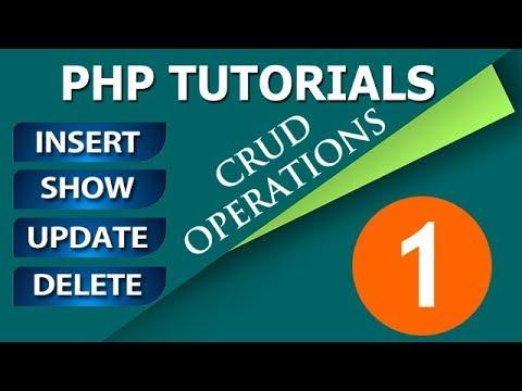 Insert View Update and Delete in PHP MySQL Hindi Tutorials   PHP Tutorials in Hindi