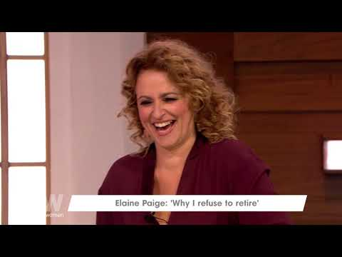 Elaine Paige Is Looking Forward to Doing Panto | Loose Women