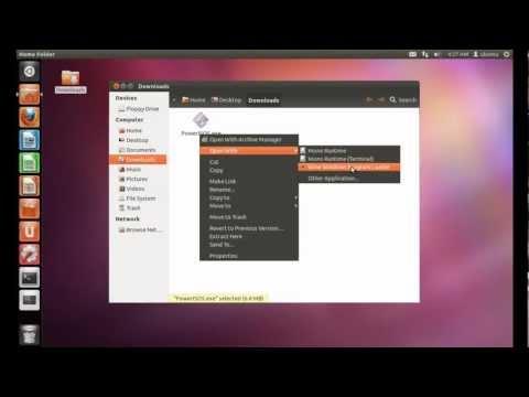 How to run Windows applications in ubuntu using wine