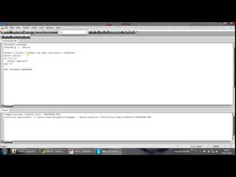 Como programar em Fortran