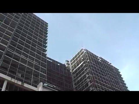 HOTEL EN CONSTRUCTION EN FACE DU RADISSON  BRAZZAVILLE